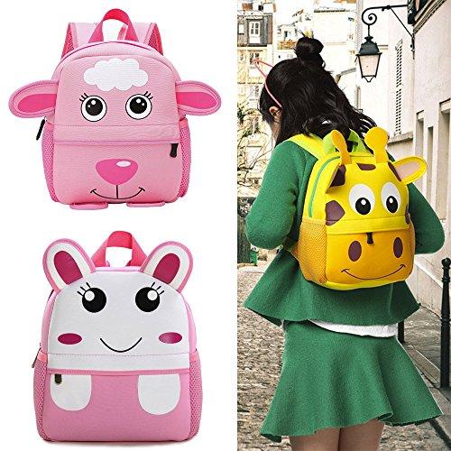 Brown Backpack Cartoon Kid Bookbags Bag Student Kindergarten School Shoulder Bags Child Travel Homebaby Toddler OqA0w5Hx