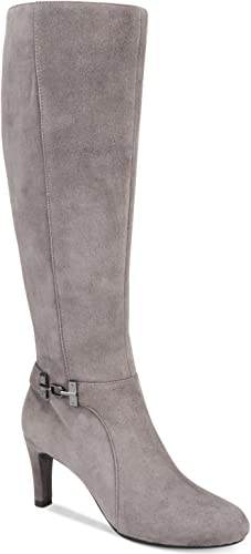 suede dress boots womens