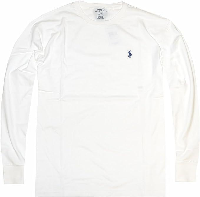 Polo Ralph Lauren Hombre Camiseta de Manga Larga de Cuello Redondo ...