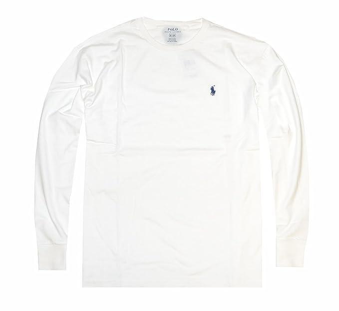 fd20bc56eba1 Ralph Lauren Polo Men's Custom Slim Fit Cotton Long Sleeve T-Shirt: Ralph  Lauren: Amazon.ca: Clothing & Accessories