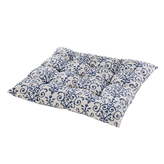 Amazon.com: Nunubee lino cojín de asiento Almohadas pierna ...