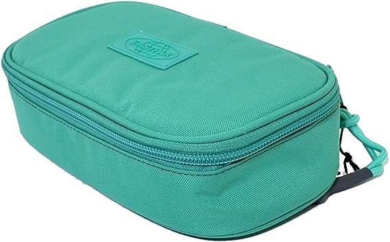 Estuche ovalado Eastpak Limited Edition Smemo verde ek71746r: Amazon.es: Oficina y papelería