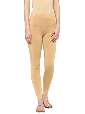 d1a644098b1e0 De Moza Womens Cotton Ankle Length Leggings Dark Yellow: Amazon.in:  Clothing & Accessories