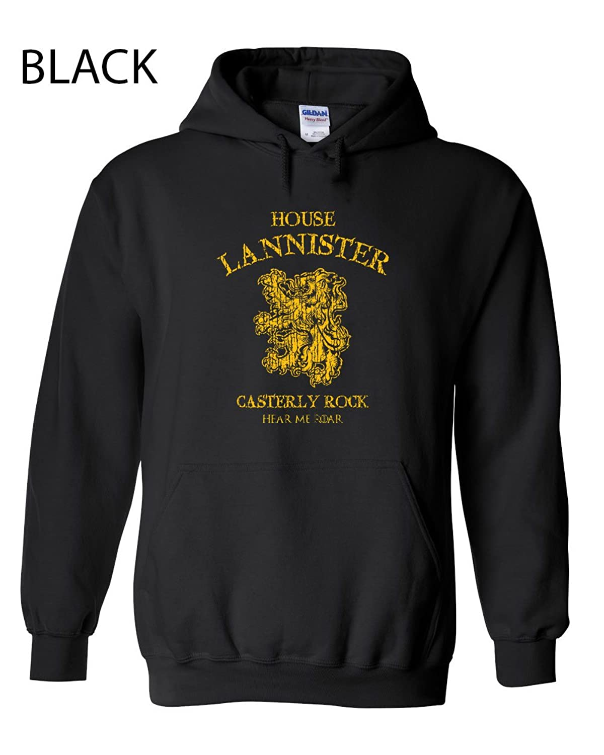 205 House Lannister Funny Hooded Sweatshirt