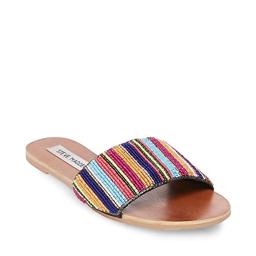 Steve Madden Women's Nadia Multi Sandal 5.5 US
