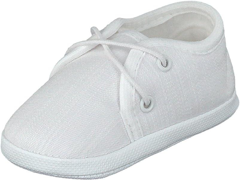 a3688e801 Omnia-Baby - Zapatos primeros pasos para niño Blanco Weiß