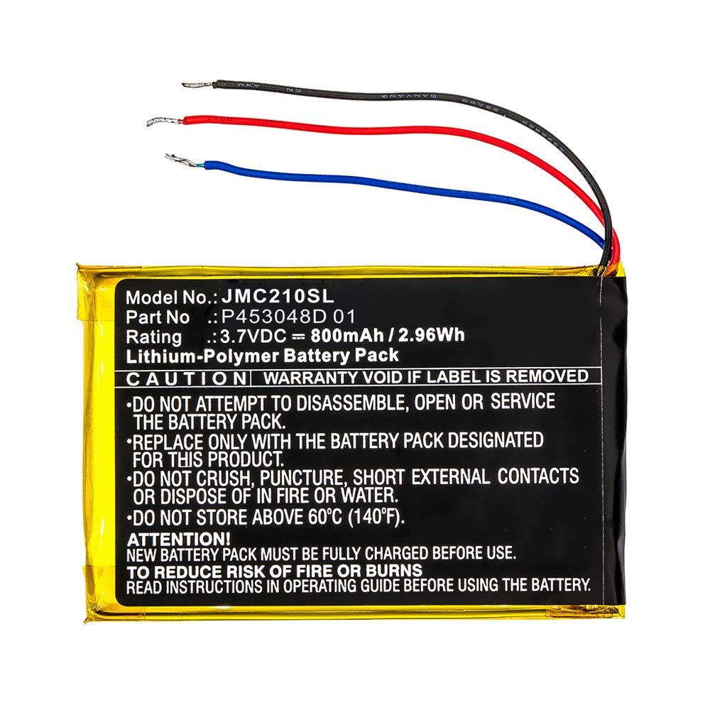subtel/® Batteria Premium Compatibile con JBL Clip 2 Special Edition P453048D 01 800mAh Batterie Ricambio accu Sostituzione JBL Clip Plus