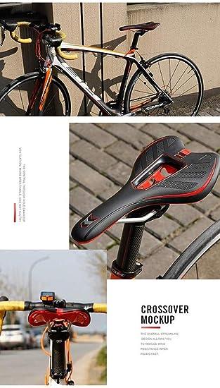 Sillín De Bicicleta Poliuretano De Alta Resistencia Sillín De Bicicleta De Montaña Adecuado para Bicicletas Urbanas, Bicicletas De Carretera, Bicicletas De Montaña, Etc.: Amazon.es: Hogar