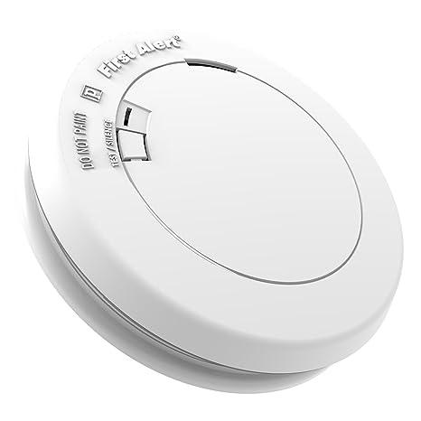 First Alert PR710 10 años fotoeléctrico detector de humo y fuego