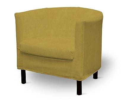 DEKORIA Fire retarding IKEA SOLSTA sillón, color mostaza ...