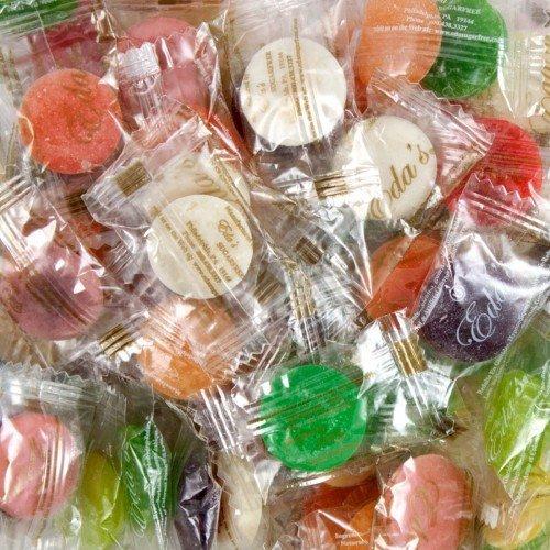 EDA'S SUGAR FREE MIXED FRUIT HARD CANDY, 5LBS by (Hard Fruits)