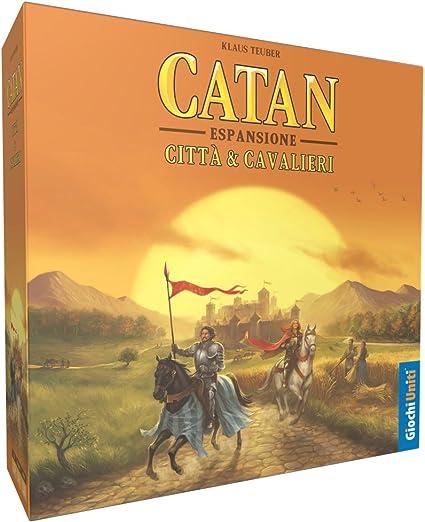 Giochi Uniti GU524 - Los Colones de Catan: Ciudad y Cavalieri: Amazon.es: Juguetes y juegos