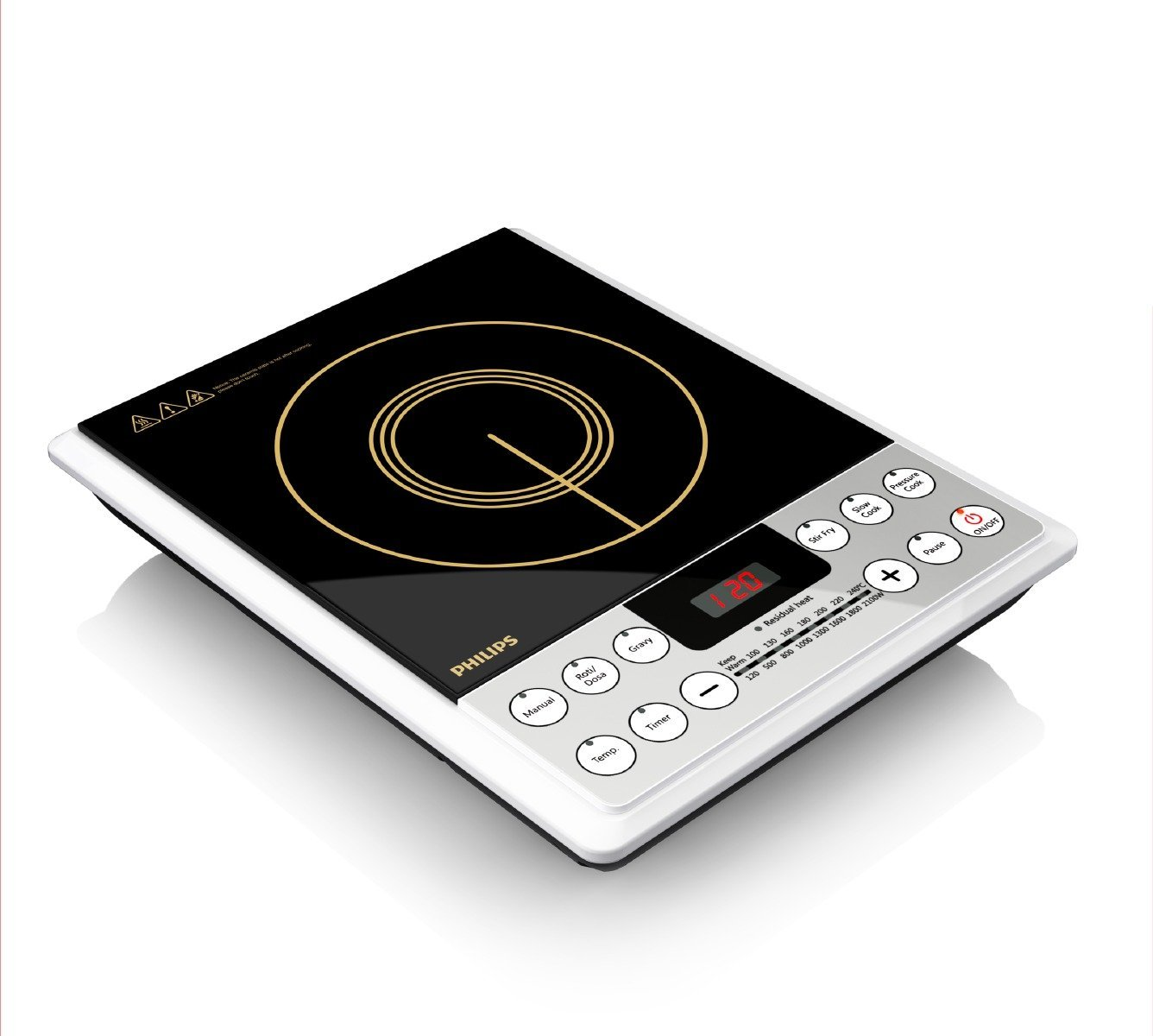 Buy Philips Hd4929 2100 Watt Induction Cooker Black Online At Low Circuit Board N08 Bo Prices In India