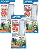 (3 Pack) Marina Slim Filter Zeolite Plus Ceramic Cartridge, 3 Cartridges each