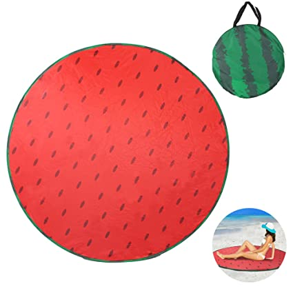 buy online 698ca a6285 Sunba Youth Beach Tent, Beach Shade, Anti UV Instant Portable Tent Sun  Shelter, Pop Up Baby Beach Tent, for 2-3 Person (Watermelon-Mat)