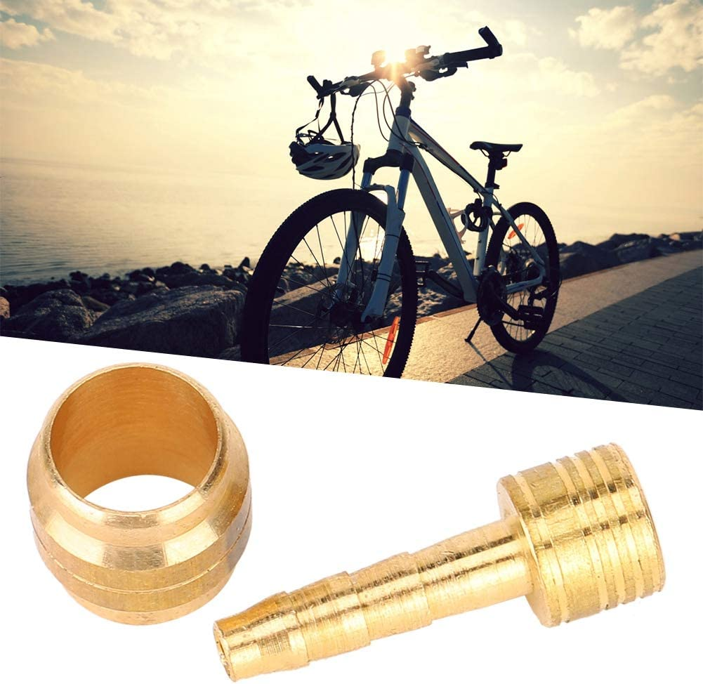 Solid With Olive Mountain Bike Bicycle Brake Hose Set Hydraulic Disc Accessories