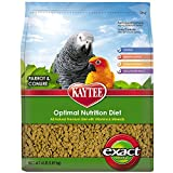 Kaytee Exact Natural Bird Food for Parrots and Conures 4-Pound