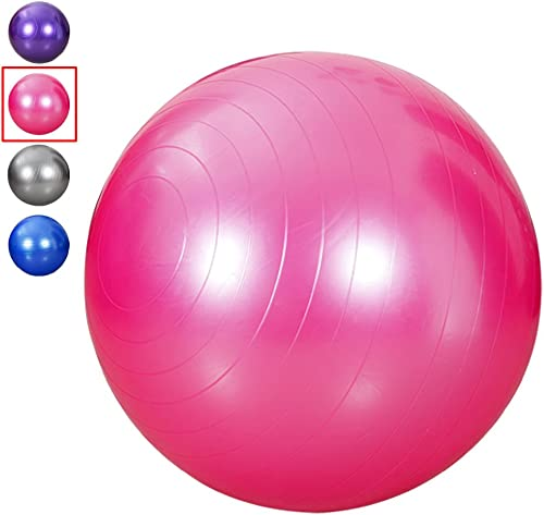FAITOVE King Size 95 cm Exercise Ball Thick Explosion-Proof Yoga Ball