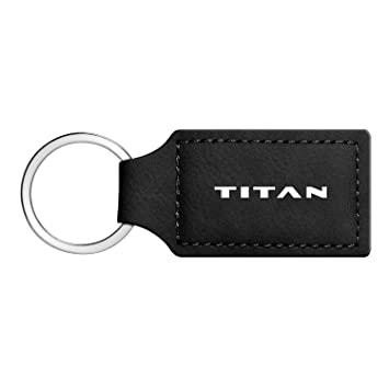 Amazon.com: iPick Image Nissan Titan - Llavero rectangular ...
