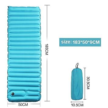 LIGHTOP Colchón de Aire Sleeping Pad Resistente Colchoneta de Aire ...