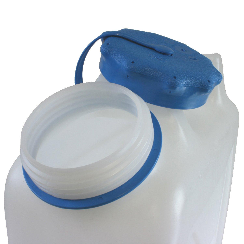 Hergestellt f/ür BAUPROFI 3x Weithals-Kanister 22 Liter PRO 3er Set Lebensmittelkanister Wasserkanister Liter