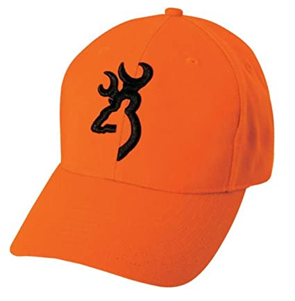 pretty nice e62d7 be6fe Amazon.com  Browning Youth Safety Cap, Blaze  Sports   Outdoors