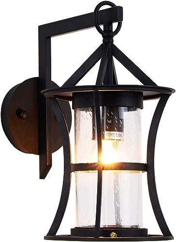 Small Outdoor Wall Light Fixtures Modern Exterior Wall Lantern Waterproof IP65