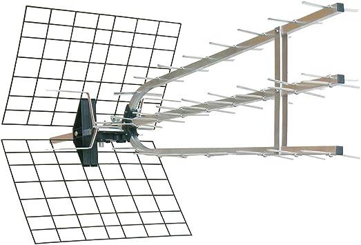 Antena Exterior Trinappe amplificada 45 dB - 694 MHz