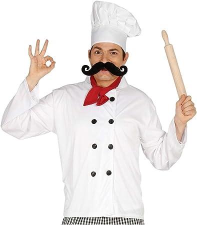 Kit disfraz de cocinero para hombre: Amazon.es: Juguetes y juegos
