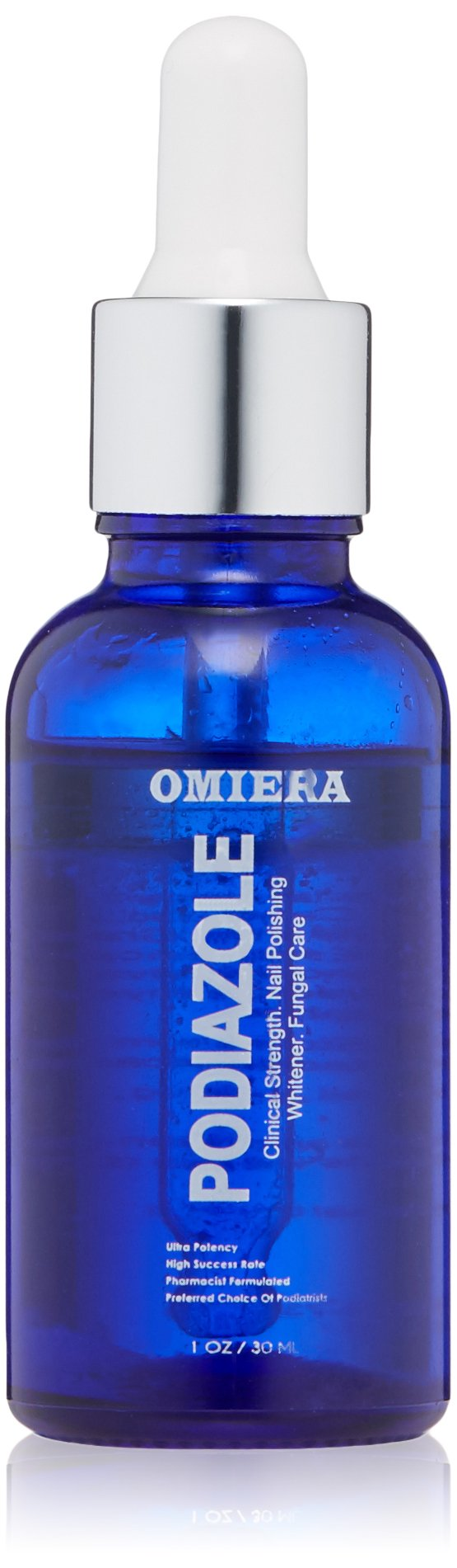 Omiera Toenail Fungus Treatment, Nail Fungus Treatment, Fungi Nails, Toe Fungus, Fingernail Fungus, Antifungal Nail Treatment - Restore Nails To Their Natural State with Podiazole, 1.0 fl. oz