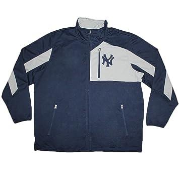Big & Tall Mens atlético con cremallera chaqueta de chándal – NY ...
