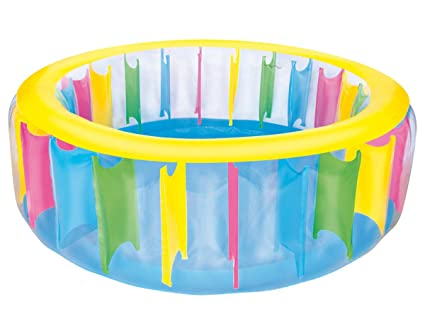 Amazon.com: h2ogo. multicolores hinchable Play Pool: Toys ...