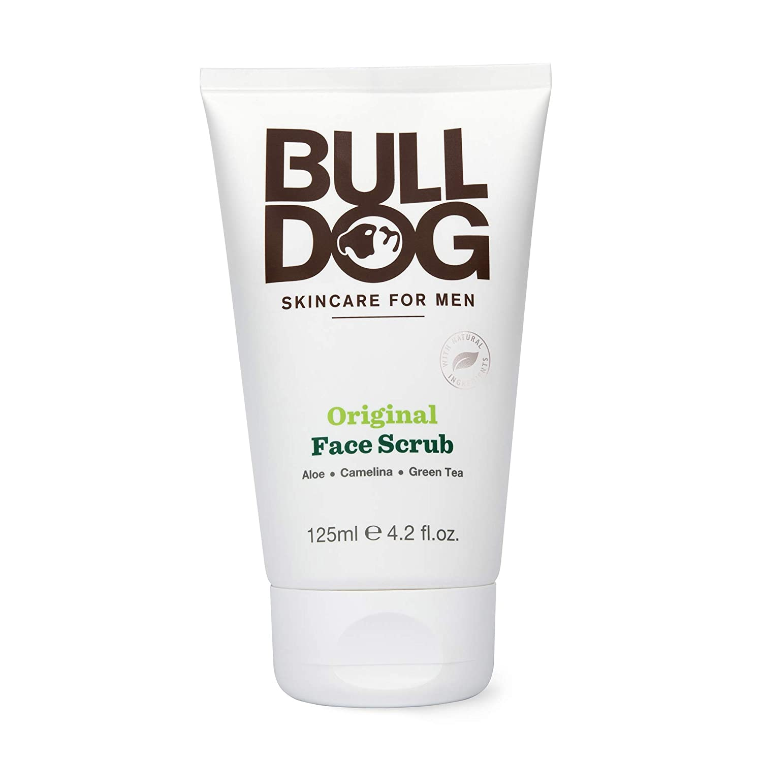 Bulldog Mens Skincare and Grooming Original Face Scrub, 4.2 Ounce