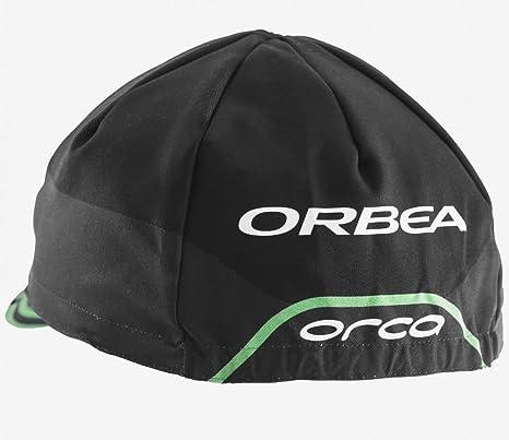 ORBEA GORRA RACING OI NEGRO/VERDE: Amazon.es: Deportes y aire libre