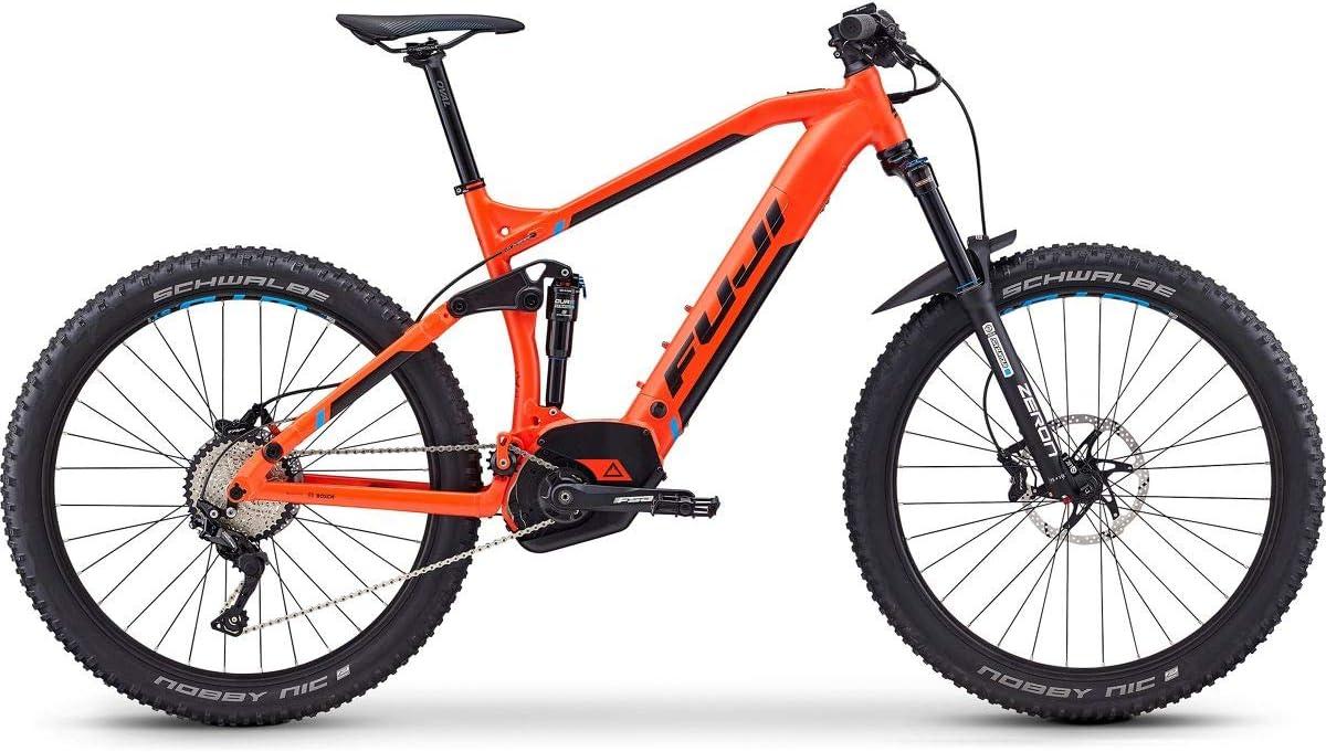 Fuji Blackhill EVO LT 27.5+ 1.5 Intl E-Bike 2019 Satin Orange - Bicicleta electrónica (53 cm, 650 B), Color Naranja