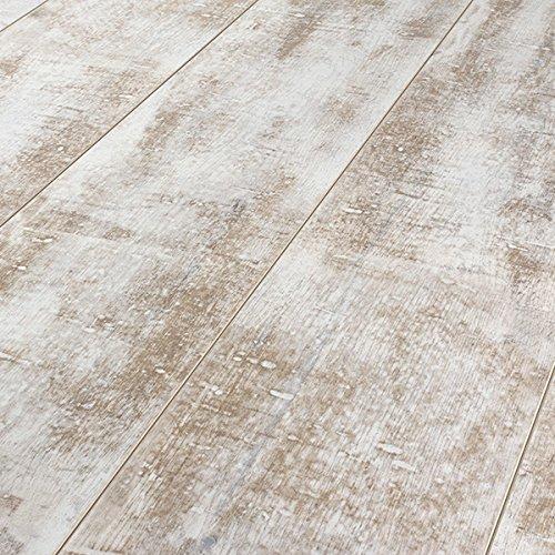 Armstrong Architectural Remnants Antique Structure Milk Paint 12Mm Laminate Flooring L3100 Sample