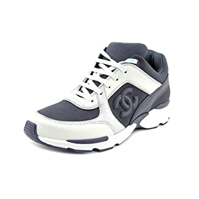 sports shoes 368cc f1905 Chanel Tennis Damen Leder Turnschuhe Schuhe Größe Display ...