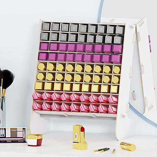 LLMM Productos para el hogar y el jardín Organizador de cosméticos Cajones Caja de Almacenamiento de Maquillaje de acrílico Transparente Caja de joyería: Amazon.es: Hogar