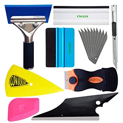 SYTASOO Vehicle Vinyl Film Tool Kit for Car Wrapping K117: Automotive