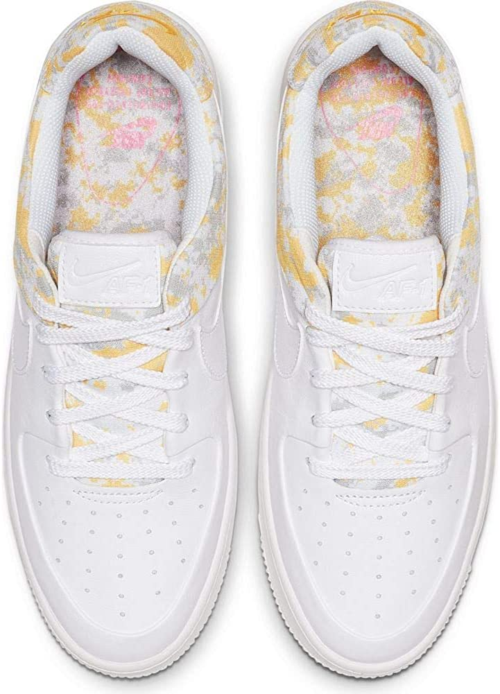 Nike Womens W Air Force 1 Sage Lo PRM Basketball Shoes