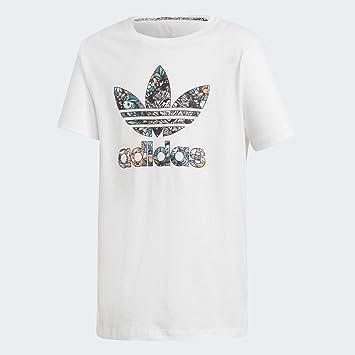 Adidas J Zoo tee - Camiseta, Niña, Blanco(Blanco/MULTCO): Amazon.es: Deportes y aire libre