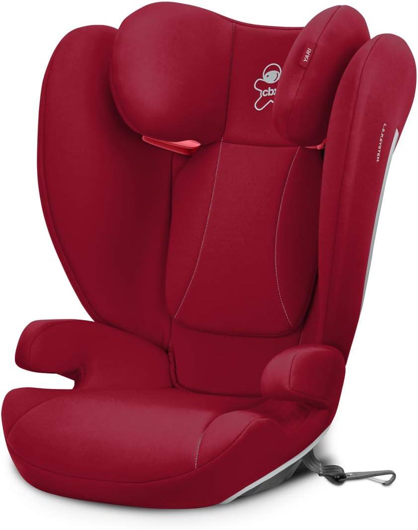 Con anclaje LATCH Grupo 2//3 Crunchy Red CBX Silla de coche para ni/ños Yari 15-36 kg Desde los 3 hasta los 12 a/ños aprox