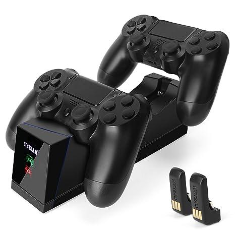 Dualshock - Cargador de controlador para PS4 con 4 puertos ...