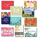 Ten Contemporary Design Birthday Card Assortment, 30 Birthday Cards & 31 Envelopes