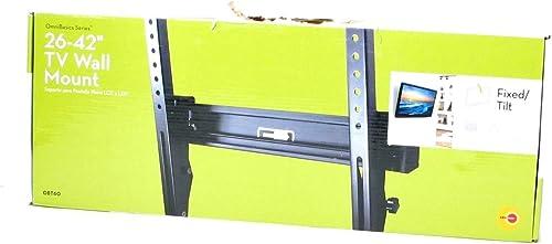 OmniBasics Series Fixed Tilt Mount for 26 – 42 TVs – OBT60
