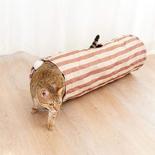 FoggDanieler Túneles para Gatos,Artículos para Gatos,Tubos y túneles para Animales pequeños,Juguetes Gato,Juguetes Gatos interactivos,Cat House,Gatos Accesorios,Conejos,Túneles,62 * 24 cm: Amazon.es: Productos para mascotas