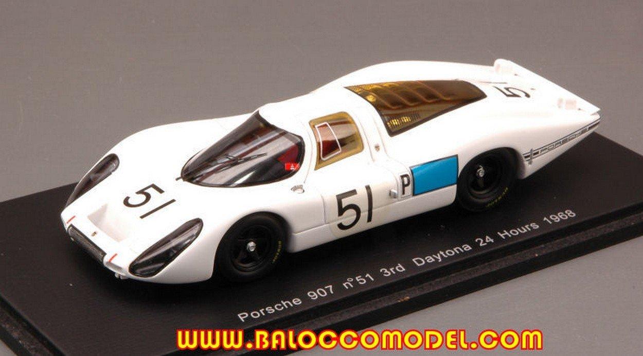 tomamos a los clientes como nuestro dios Spark Model Model Model S2986 Porsche 908 N.51 3rd Daytona 1968 SCHLESSER-BUZZETTA 1:43  mejor precio