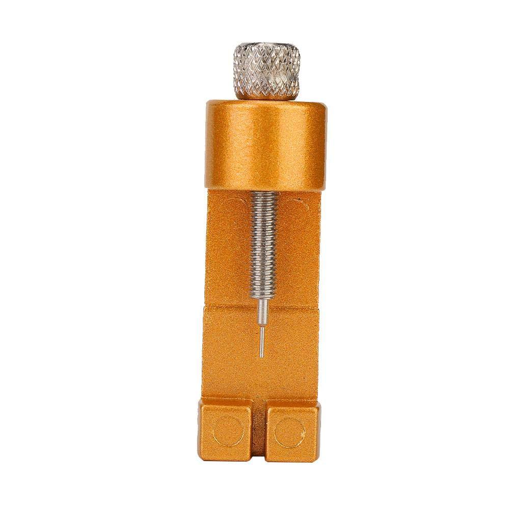 Verstellbarer Uhrenarmbandwechsler Zum Entfernen des Verbindungsstifts und zur Gr/ö/ßenbestimmung der Uhr Reparatursatz zum L/ösen des Armbandes Qkiss Armbandentferner Uhrmacherwerkzeug