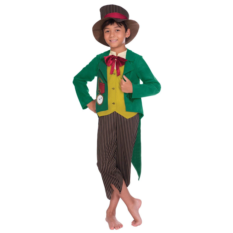 Amscan International 9904672 - Costume da Dickensian Boy 8-10 anni