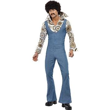 70er Jahre danza traje de vaquero L 52/54 Jeans pantalones traje ...